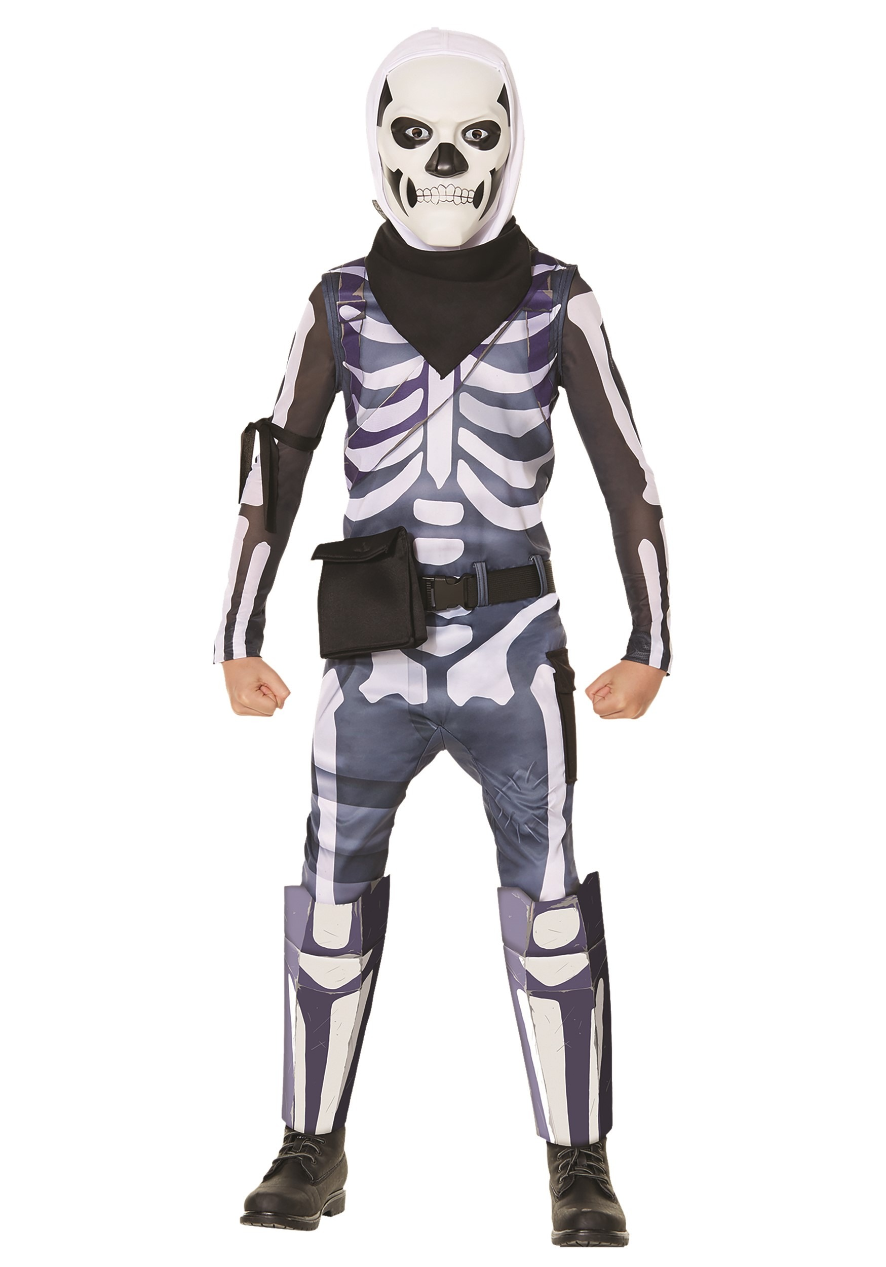 Fortnite Skull Trooper Costume for Kids