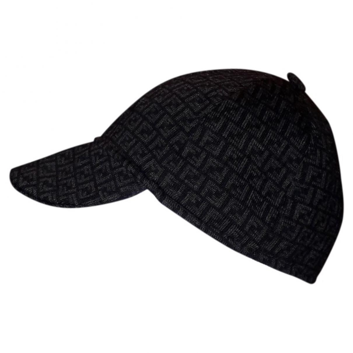 Fendi - Chapeau & Bonnets   pour homme en laine - gris