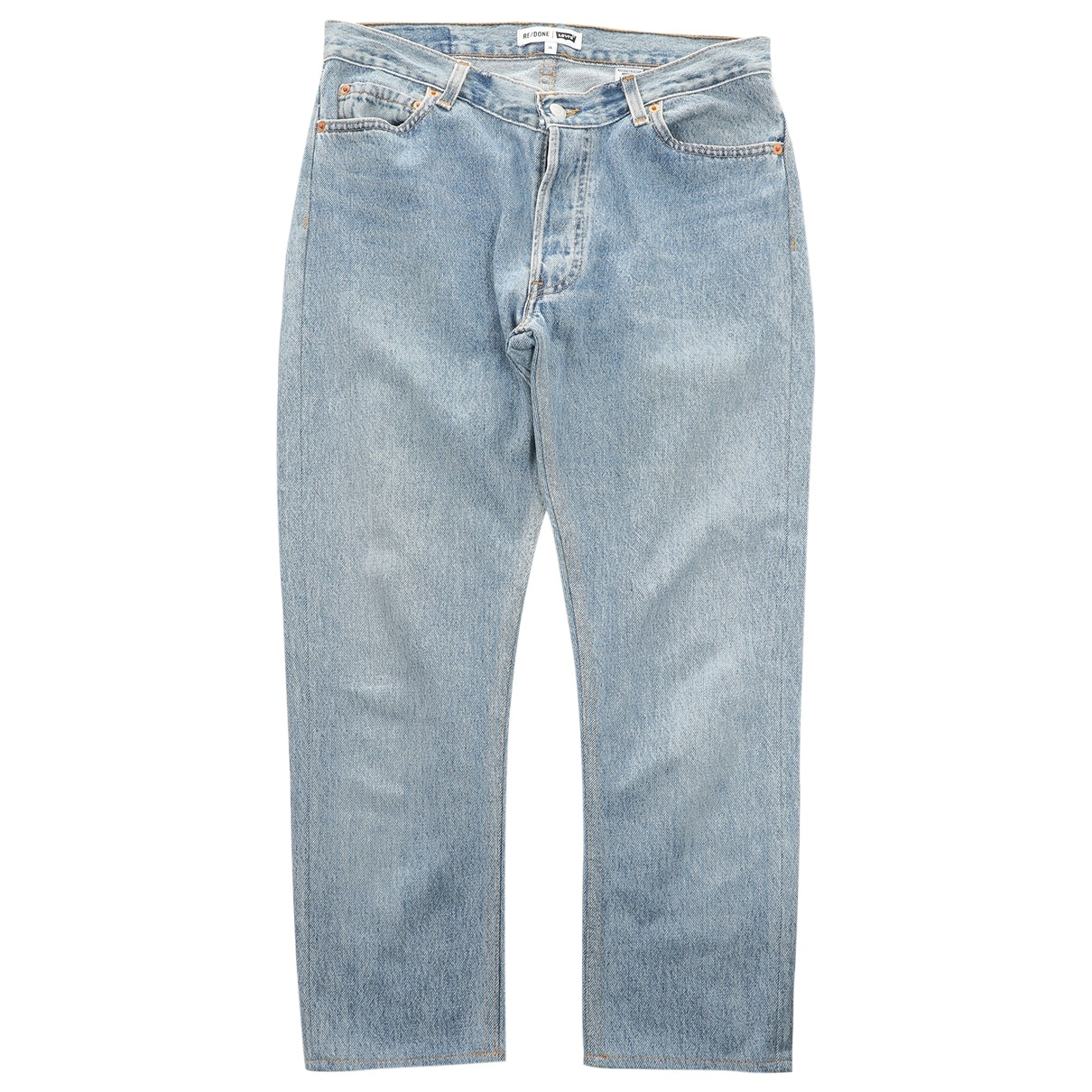 Re/done X Levi's \N Blue Denim - Jeans Jeans for Women 26 US