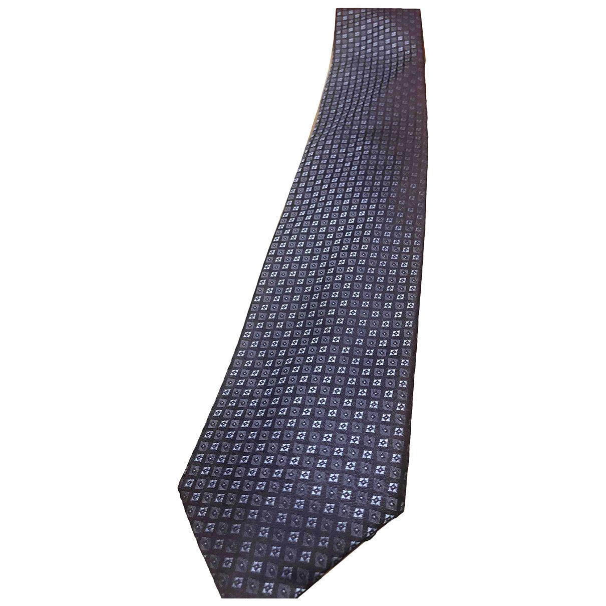 Boss \N Krawatten in  Blau Polyester
