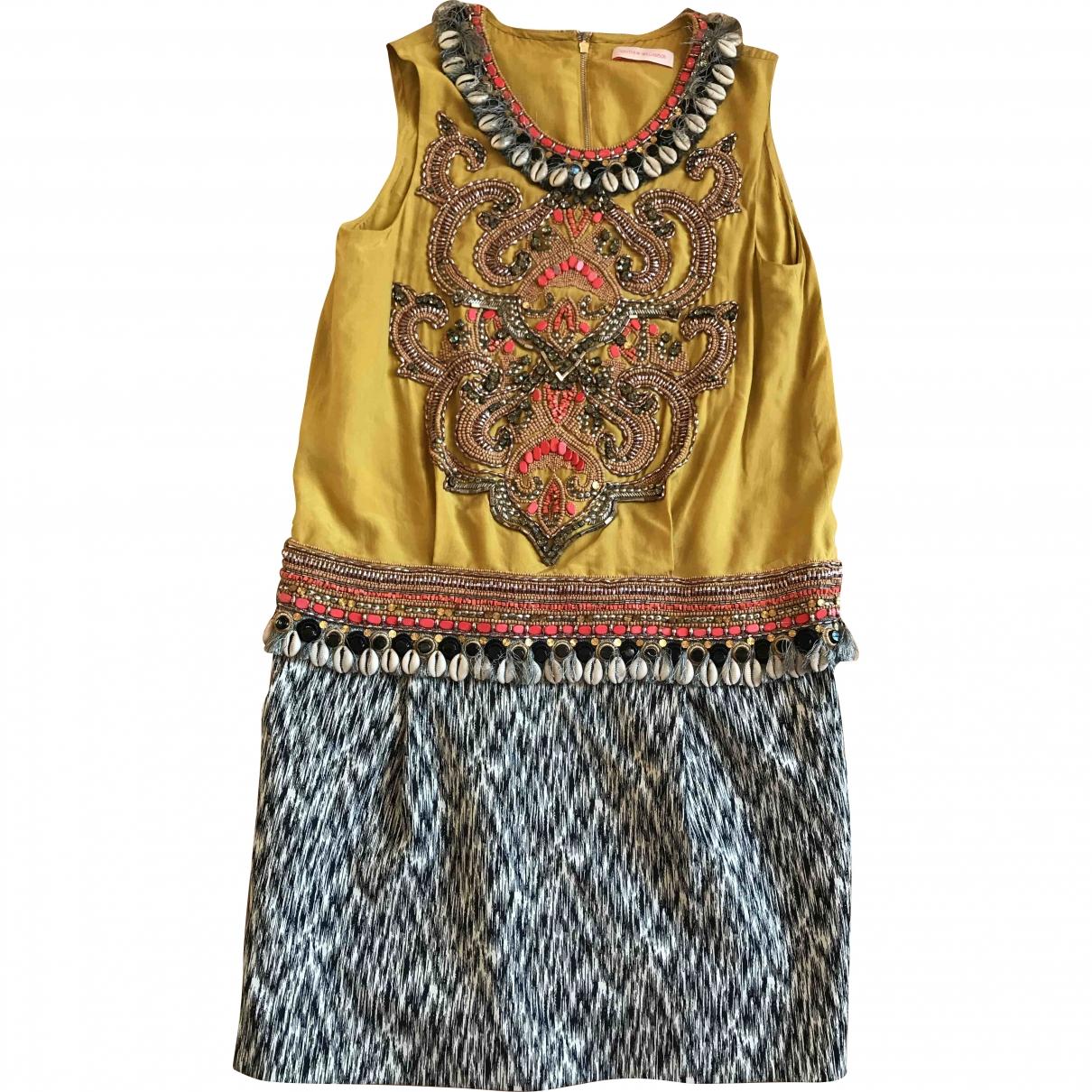 Matthew Williamson - Robe   pour femme en coton - elasthane - multicolore