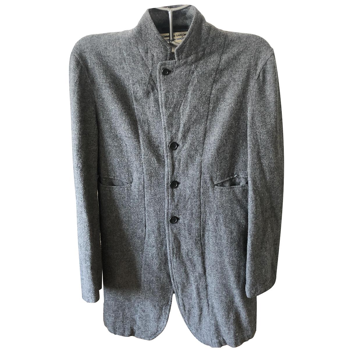 Comme Des Garcons - Veste   pour femme en coton - gris