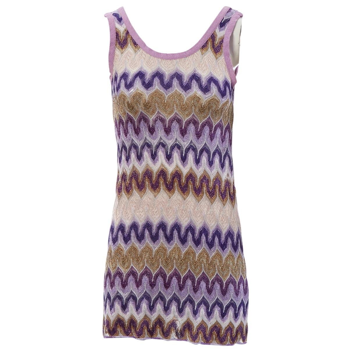 Missoni - Robe   pour femme - violet