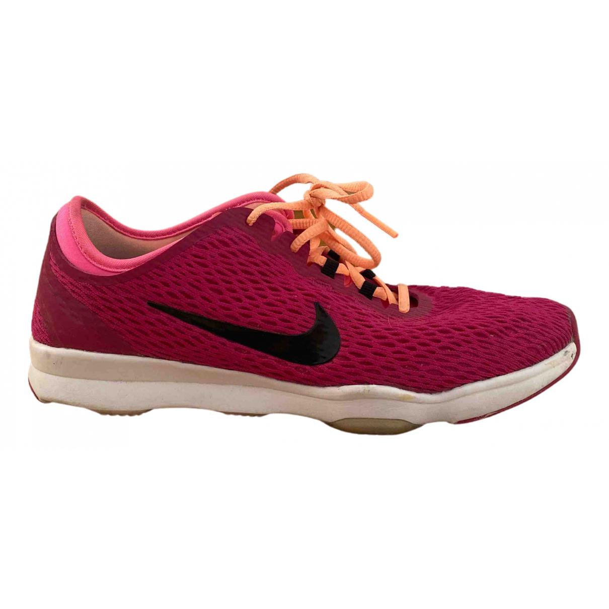 Nike Zoom Pink Cloth Trainers for Women 37.5 EU
