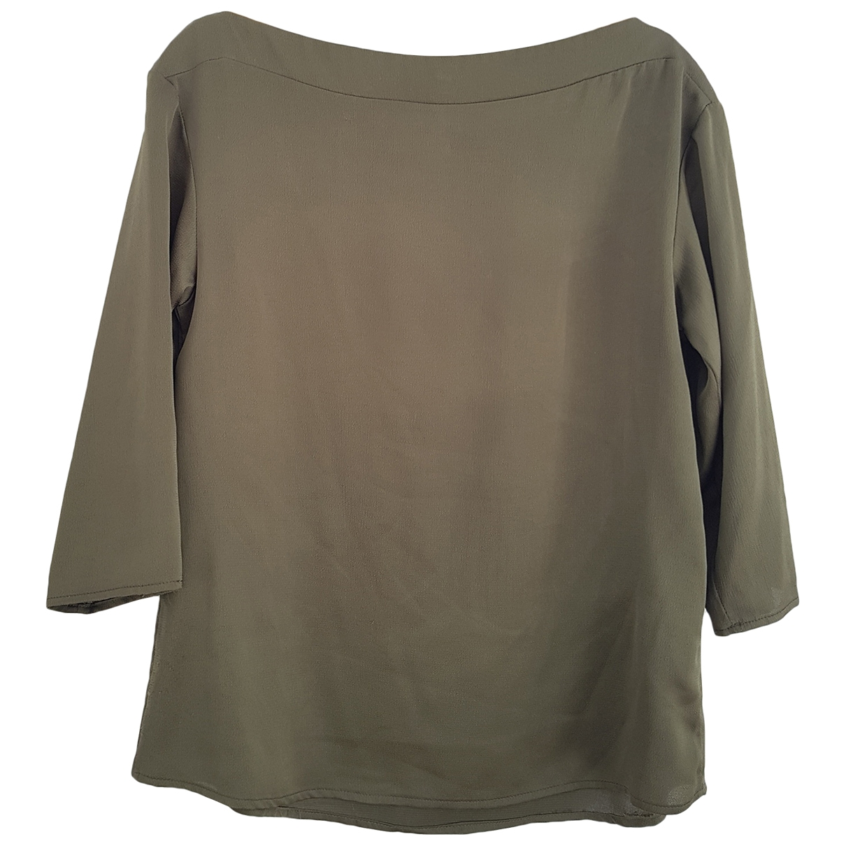 Imperial \N Top in  Khaki Polyester