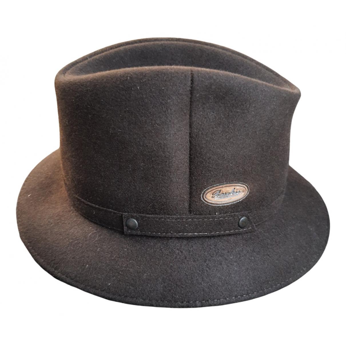 Borsalino - Chapeau & Bonnets   pour homme en laine - marron