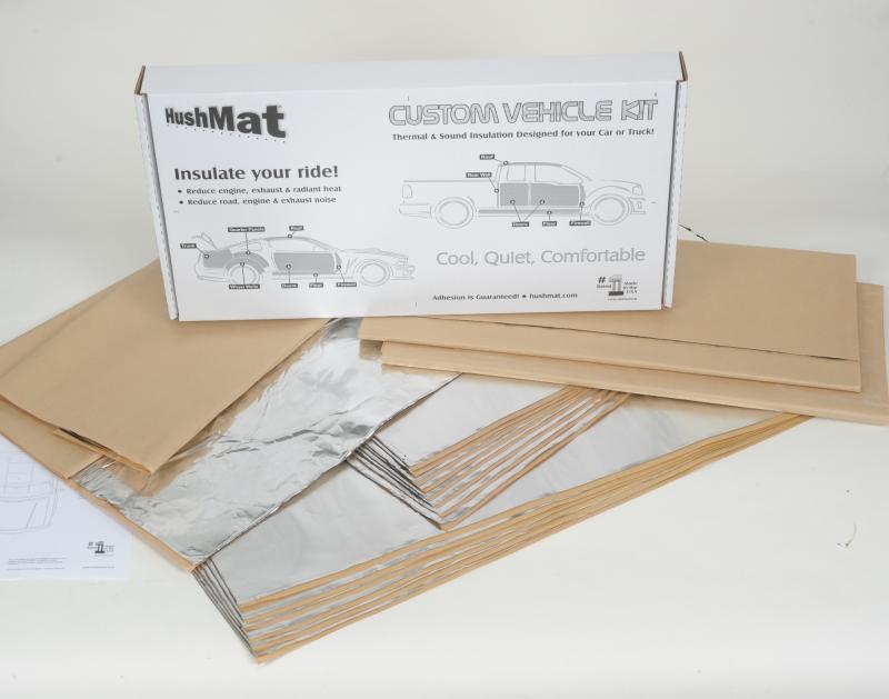 Hushmat 69765 Complete Vehicle Custom Insulation Kit Ford Falcon 1964-1965