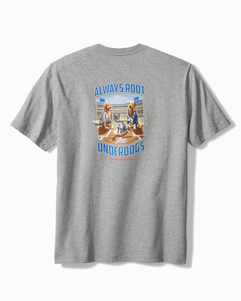 Big & Tall Root For The Underdogs T-Shirt