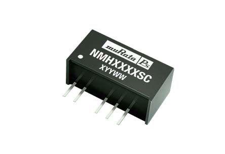 Murata Power Solutions Through Hole 2W Isolated DC-DC Converter, Vin 4.5 → 5.5 V dc, I/O isolation 1kV