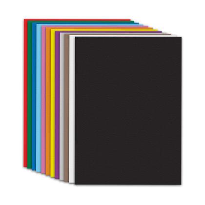 Fierro Paper@ papier de construction, 50 feuilles/paquet - Vari es, 12 x 18