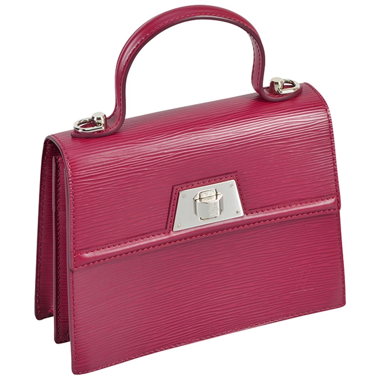 Louis Vuitton - Sac a main Sevigne pour femme en cuir - rose