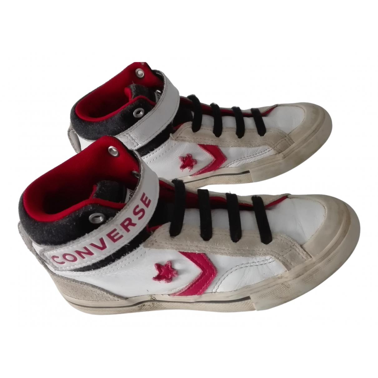 Converse \N Sneakers in  Bunt Leder