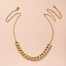 Halskette mit Kette Dekor
