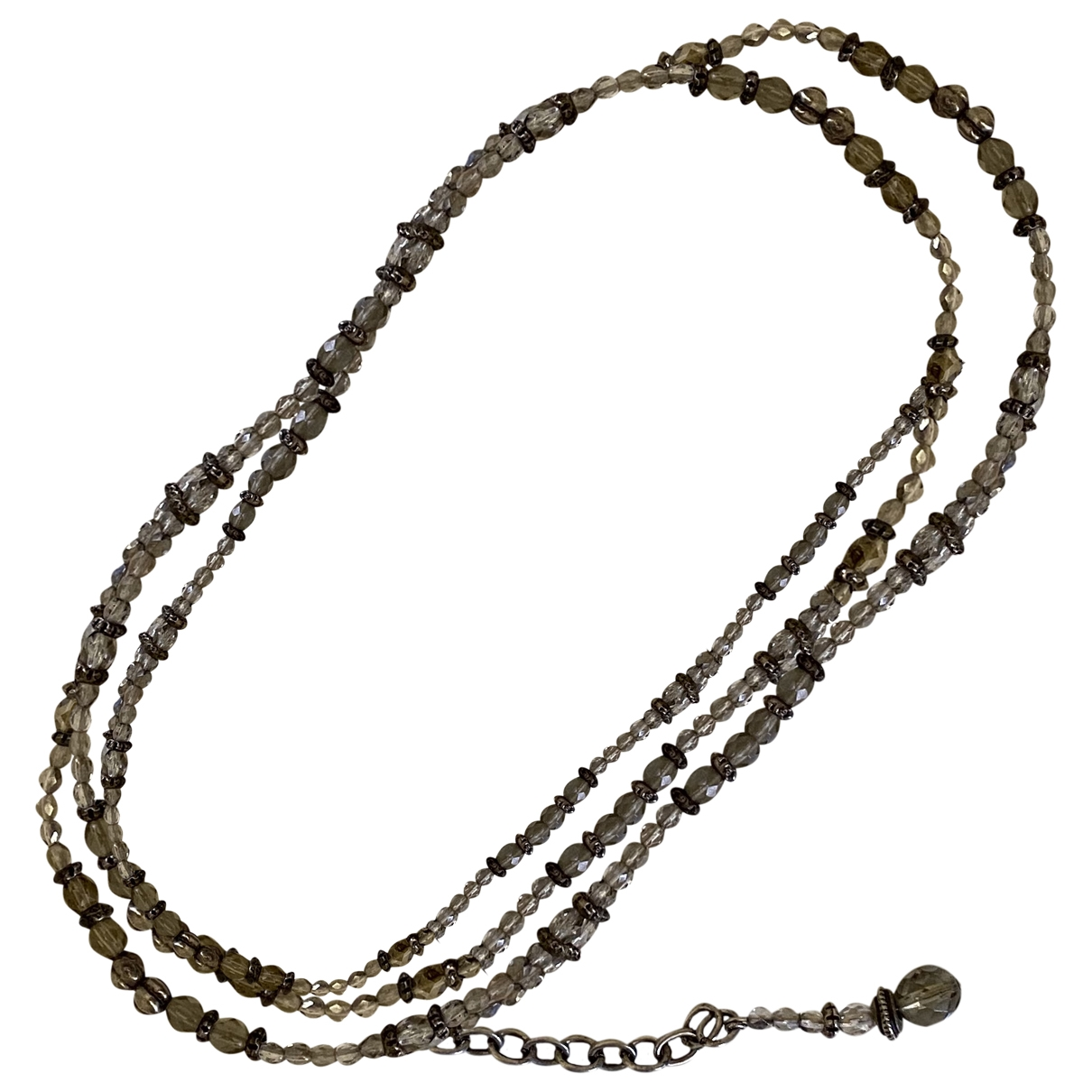 Non Signé / Unsigned \N Silver Chain belt for Women S International