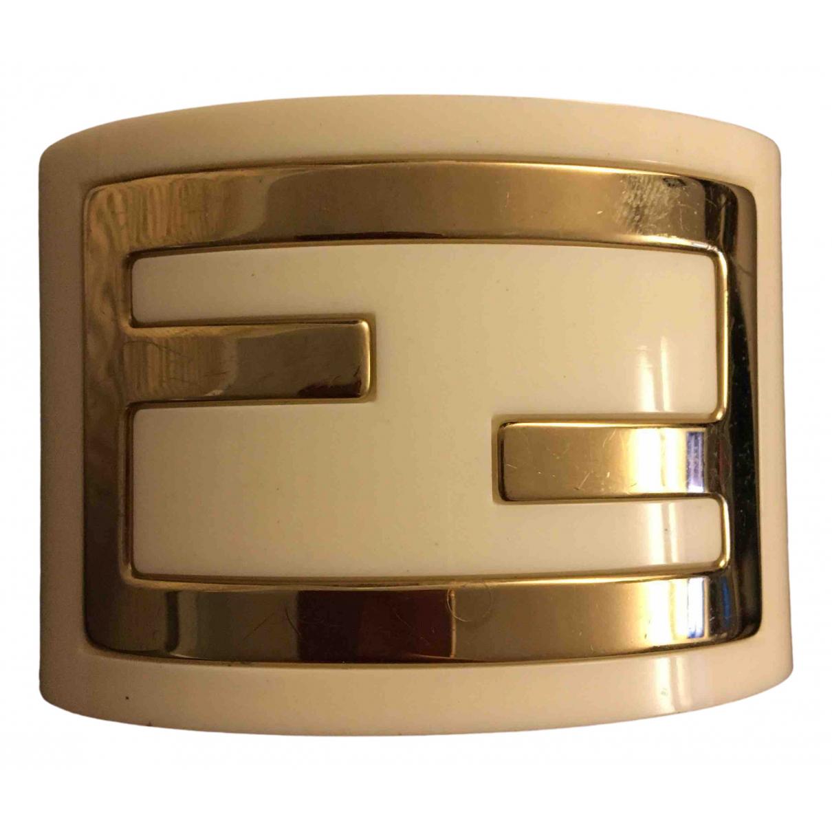 Fendi - Bracelet The Fendista pour femme - blanc