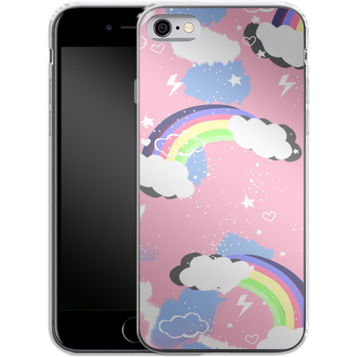 Apple iPhone 6 Silikon Handyhuelle - Unicorn Rainbow von Mukta Lata Barua