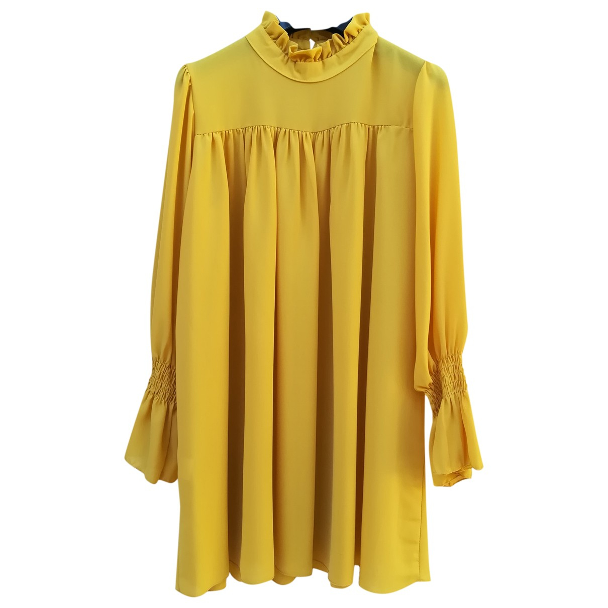 Non Signé / Unsigned \N Yellow  top for Women 42 FR