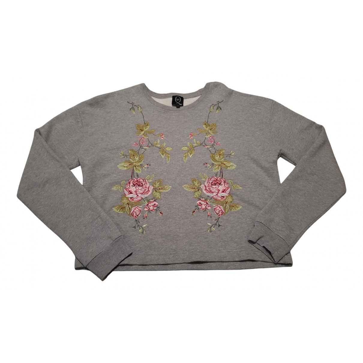Mcq N Grey Cotton Knitwear for Women 44 IT