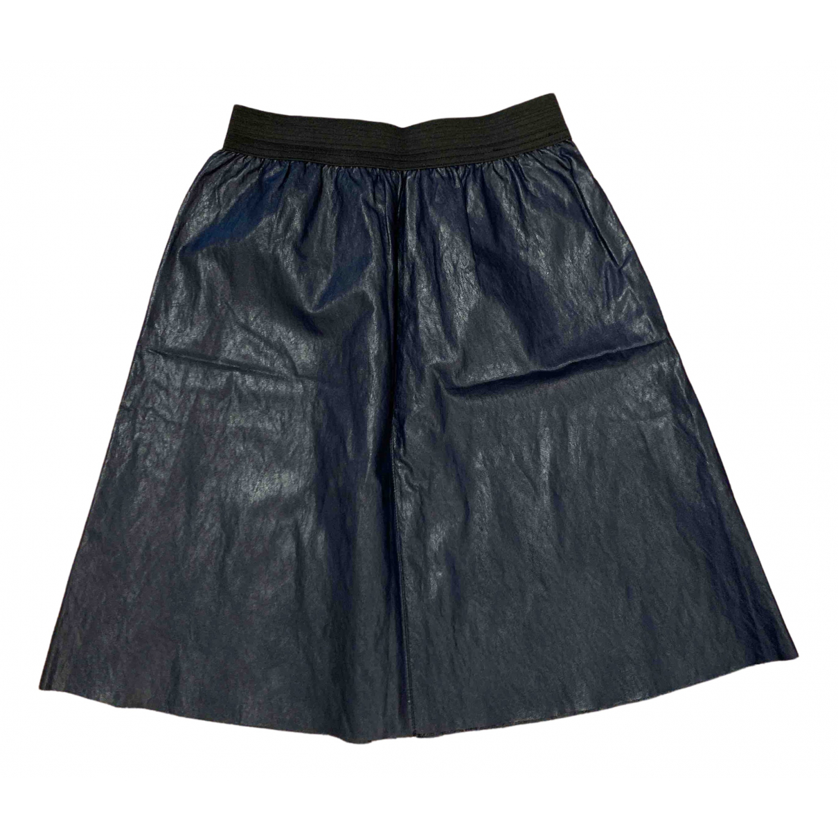 Non Signé / Unsigned N Blue skirt for Women One Size IT