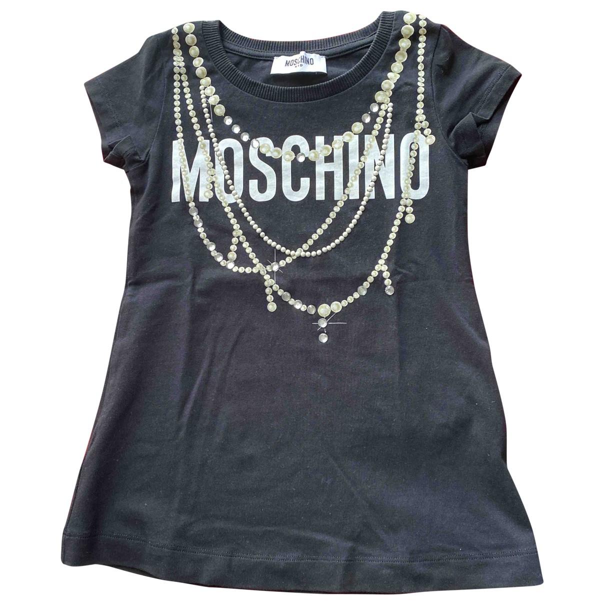 Moschino - Robe    pour enfant en coton - noir