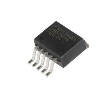 Texas Instruments , LM2575HVS-ADJ/NOPB Step-Down Switching Regulator, 1-Channel 1A Adjustable 5-Pin, D2PAK