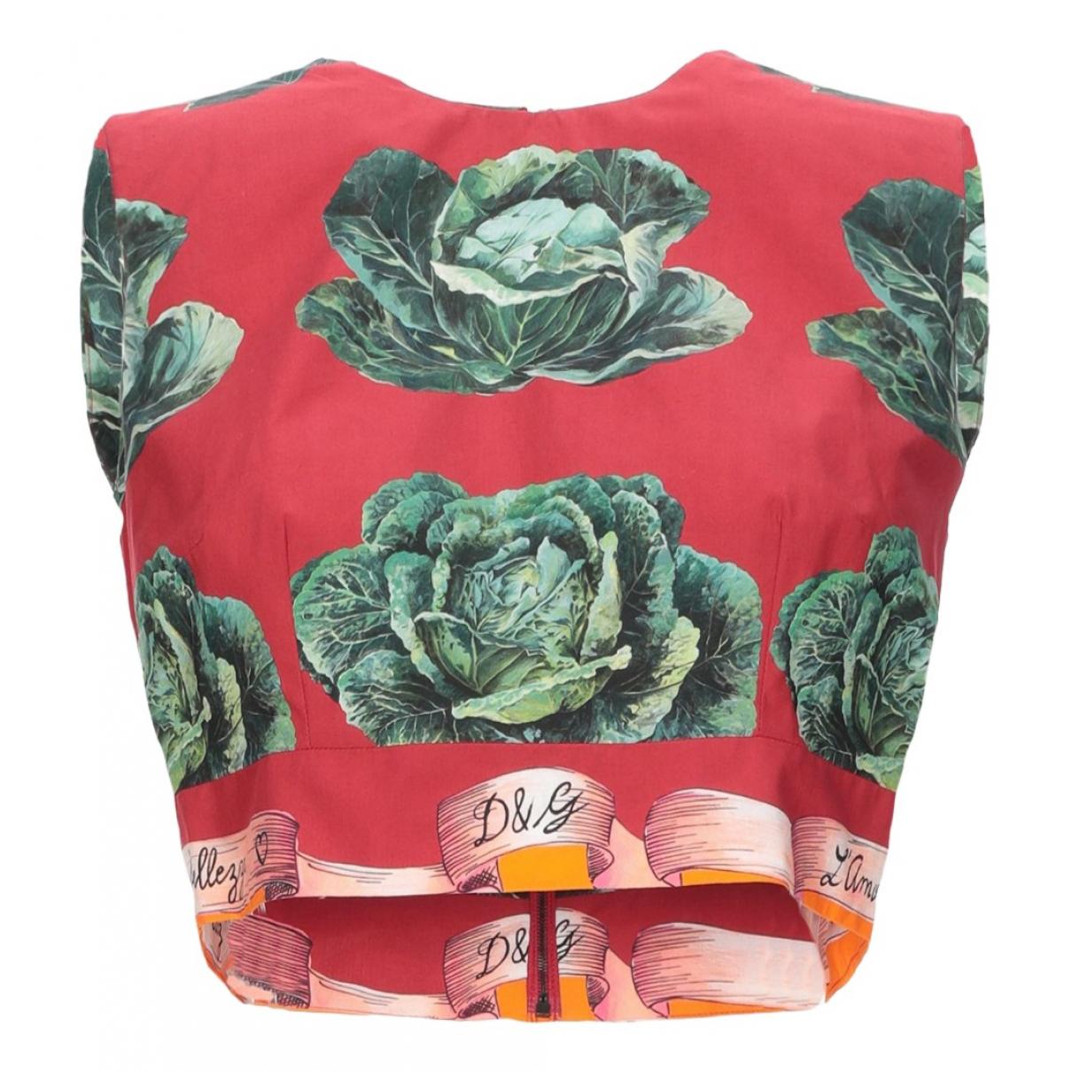 Dolce & Gabbana \N Top in  Rosa Baumwolle