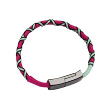 1 pieza cable de dato brazalete de iphone