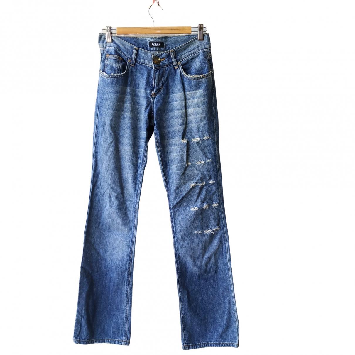 D&g \N Blue Denim - Jeans Jeans for Women 28 US