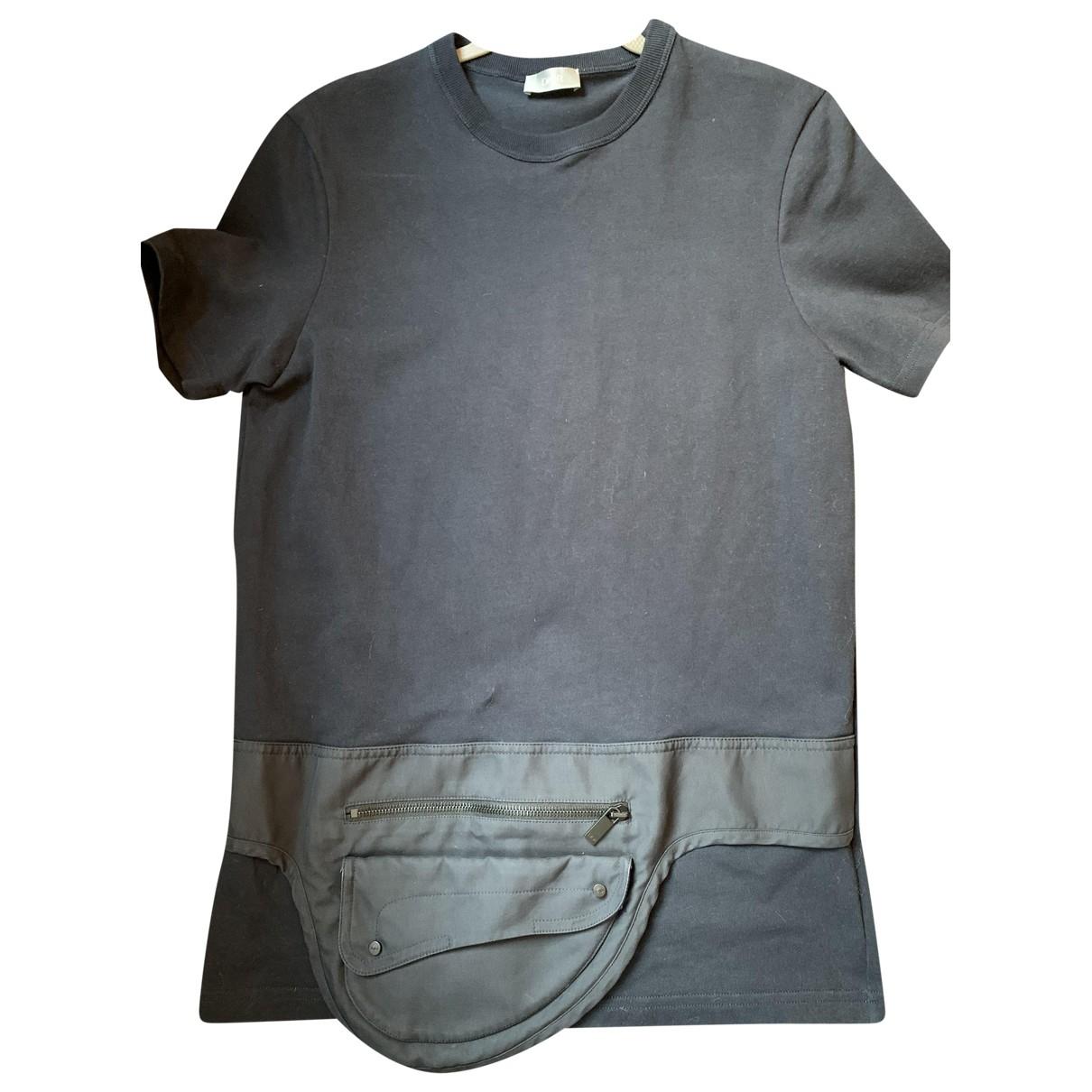 Dior Homme - Tee shirts   pour homme en coton - noir