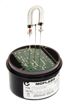 Moflash X 125 Xenon Beacon, 10 → 100 V ac, 20 → 72 V dc, Flashing, Surface Mount