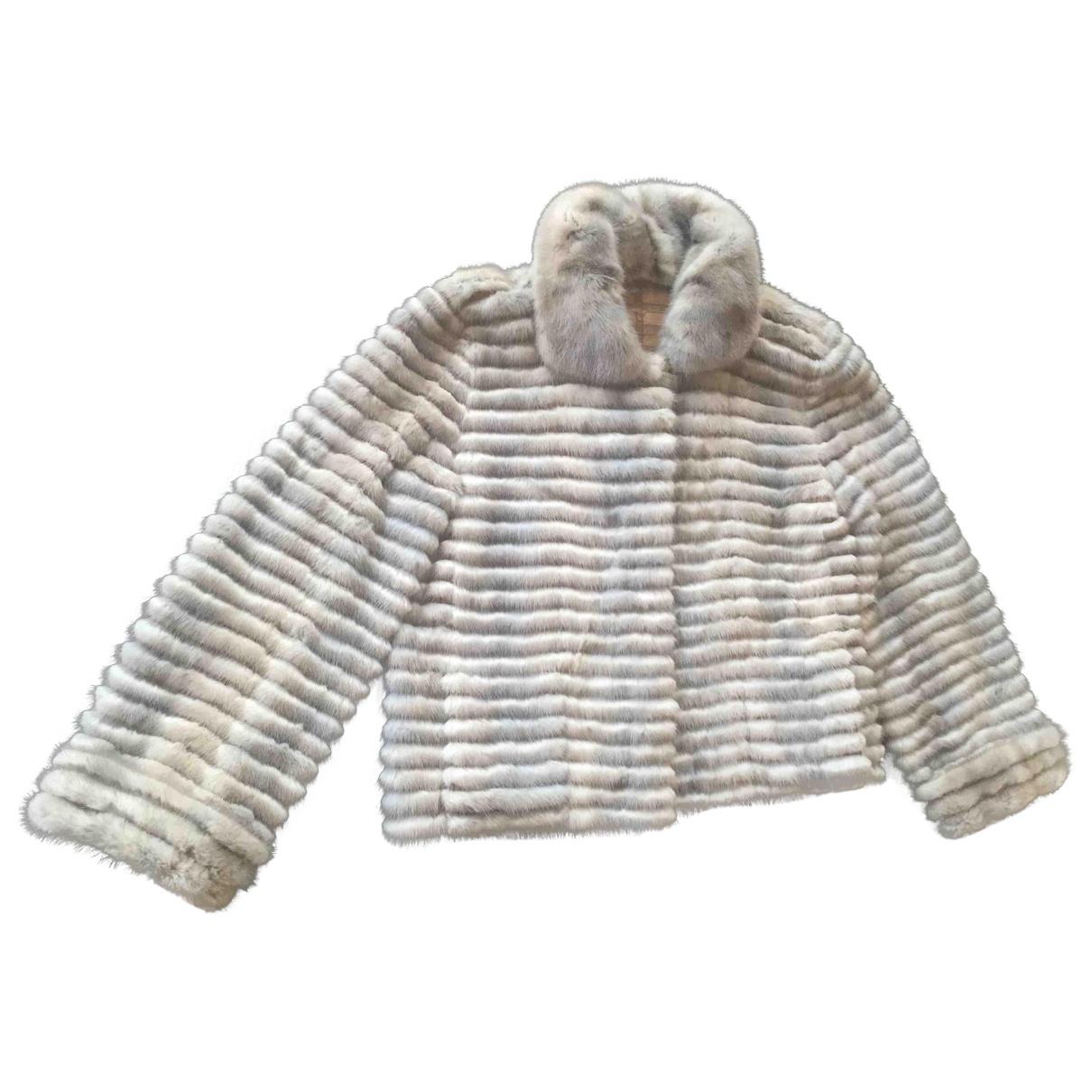 Fendi \N Beige Mink jacket for Women 40 IT