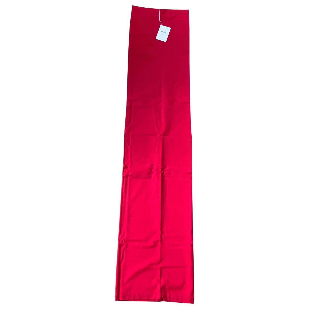 Wolford \N Kleid in  Rot Baumwolle - Elasthan