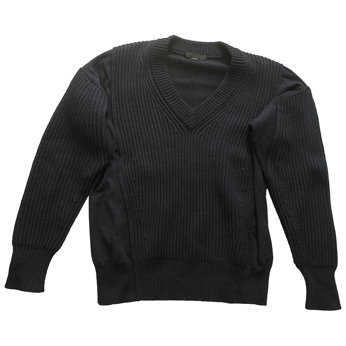 Alexander Wang \N Pullover in  Marine Wolle