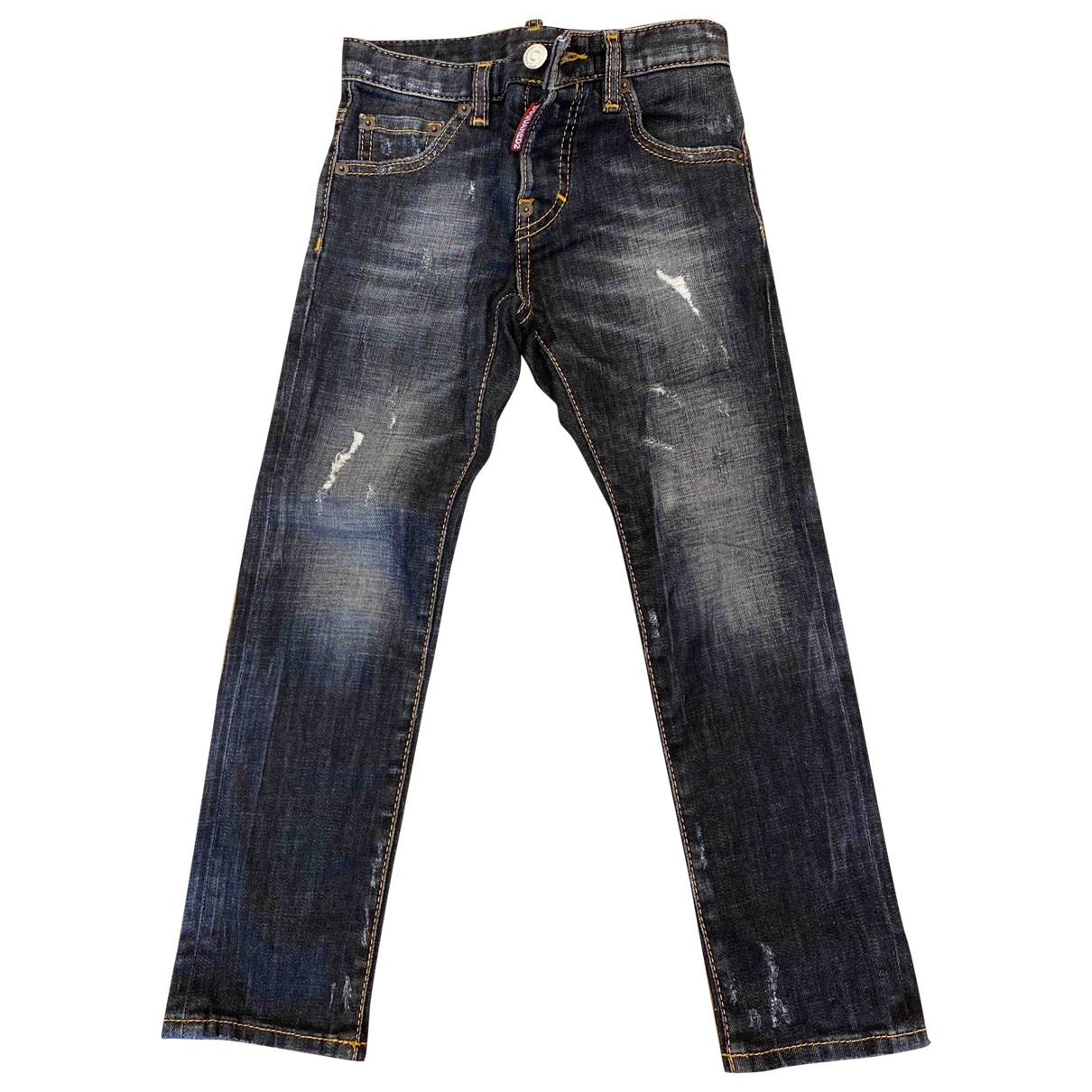Dsquared2 \N Black Denim - Jeans Trousers for Kids 6 years - until 45 inches UK