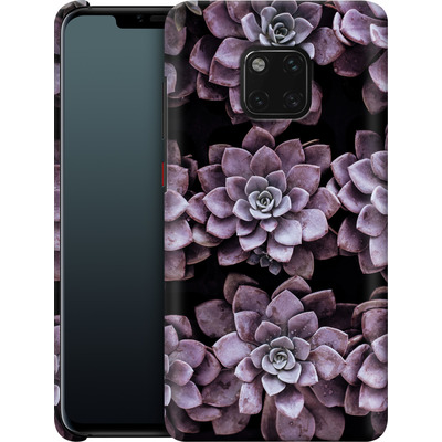 Huawei Mate 20 Pro Smartphone Huelle - Purple Succulents von caseable Designs