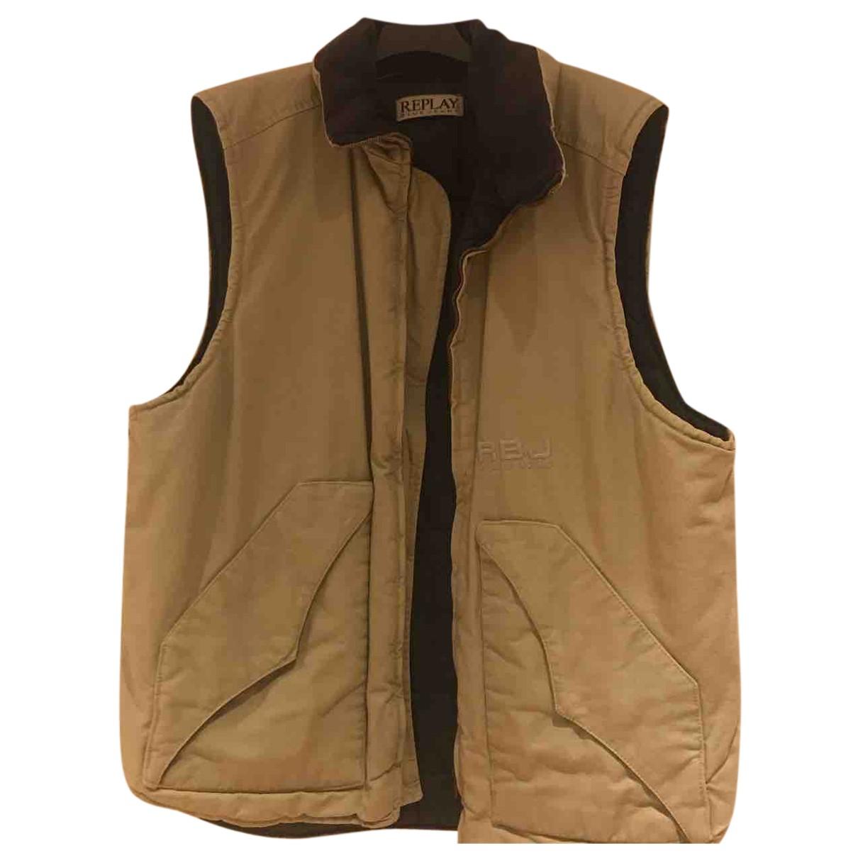 Replay N Beige Knitwear & Sweatshirts for Men L International