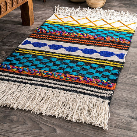 nuLoom Jute Hand Woven Rug, One Size , Multiple Colors