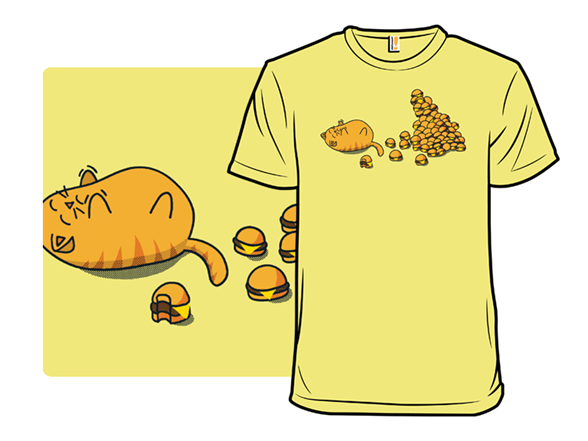 I Can't Haz More Burgers T Shirt