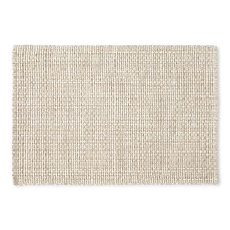 Homewear Homespun 4-pc. Placemat, One Size , White