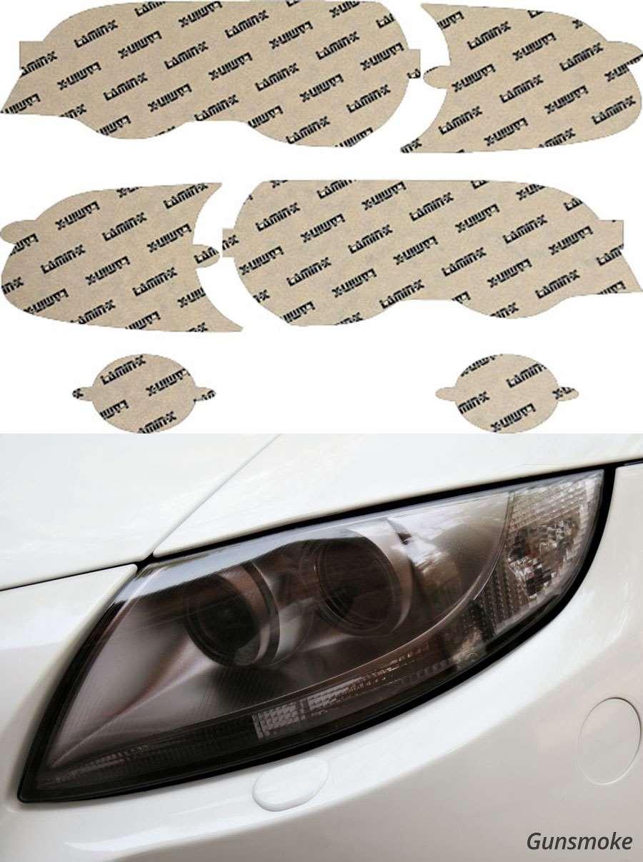 BMW M3 01-06 Gunsmoke Headlight Covers Lamin-X B002-1G