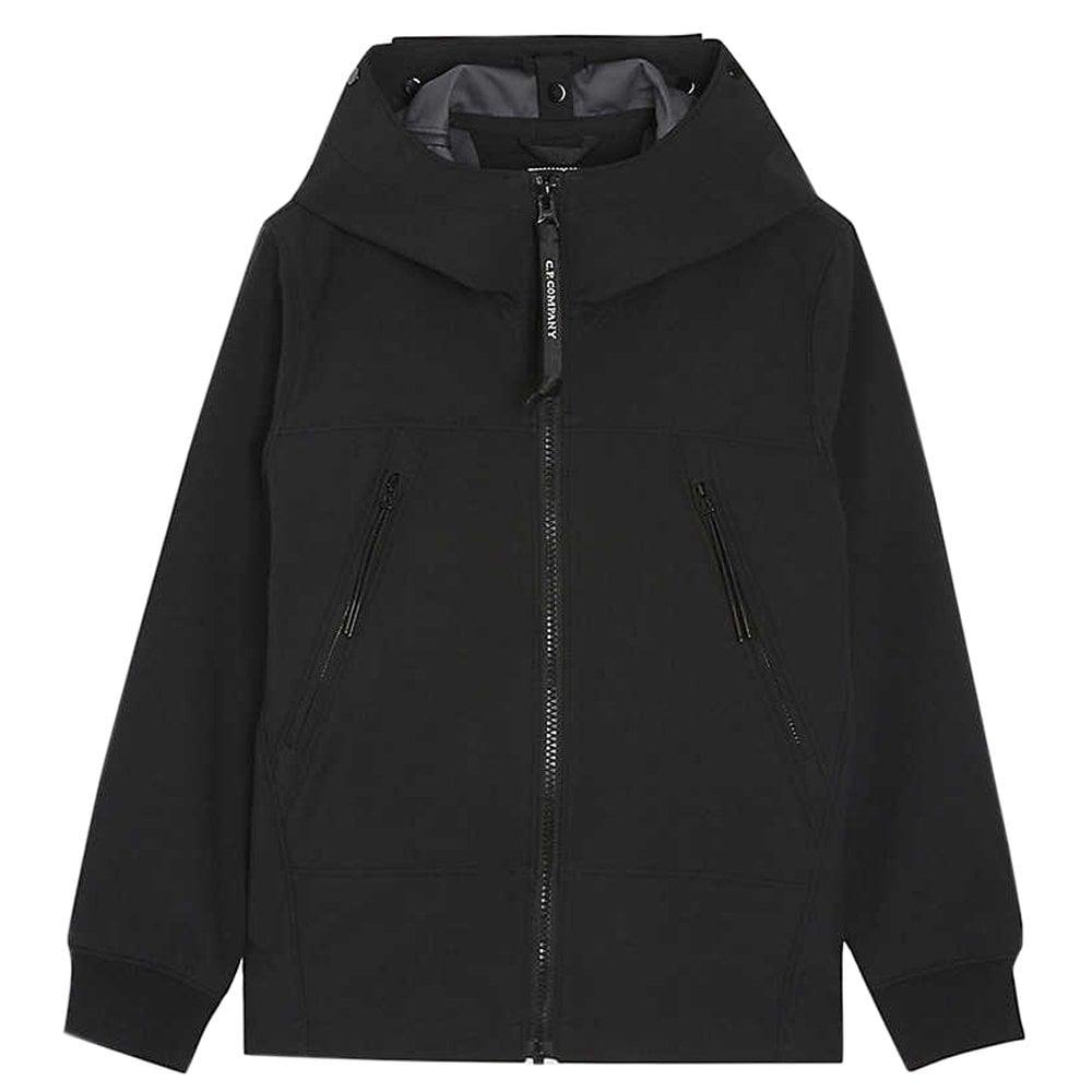 C.p. Company C.P Company Kids Hooded Goggles Short Jacket Colour: BLAC