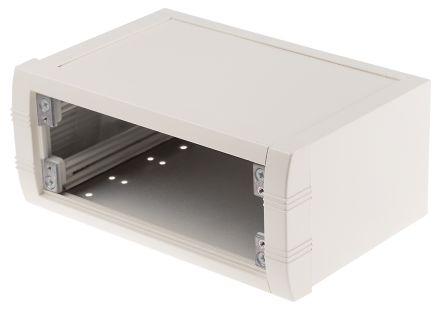 METCASE Mettec White Aluminium Project Box, 200 x 130 x 85mm