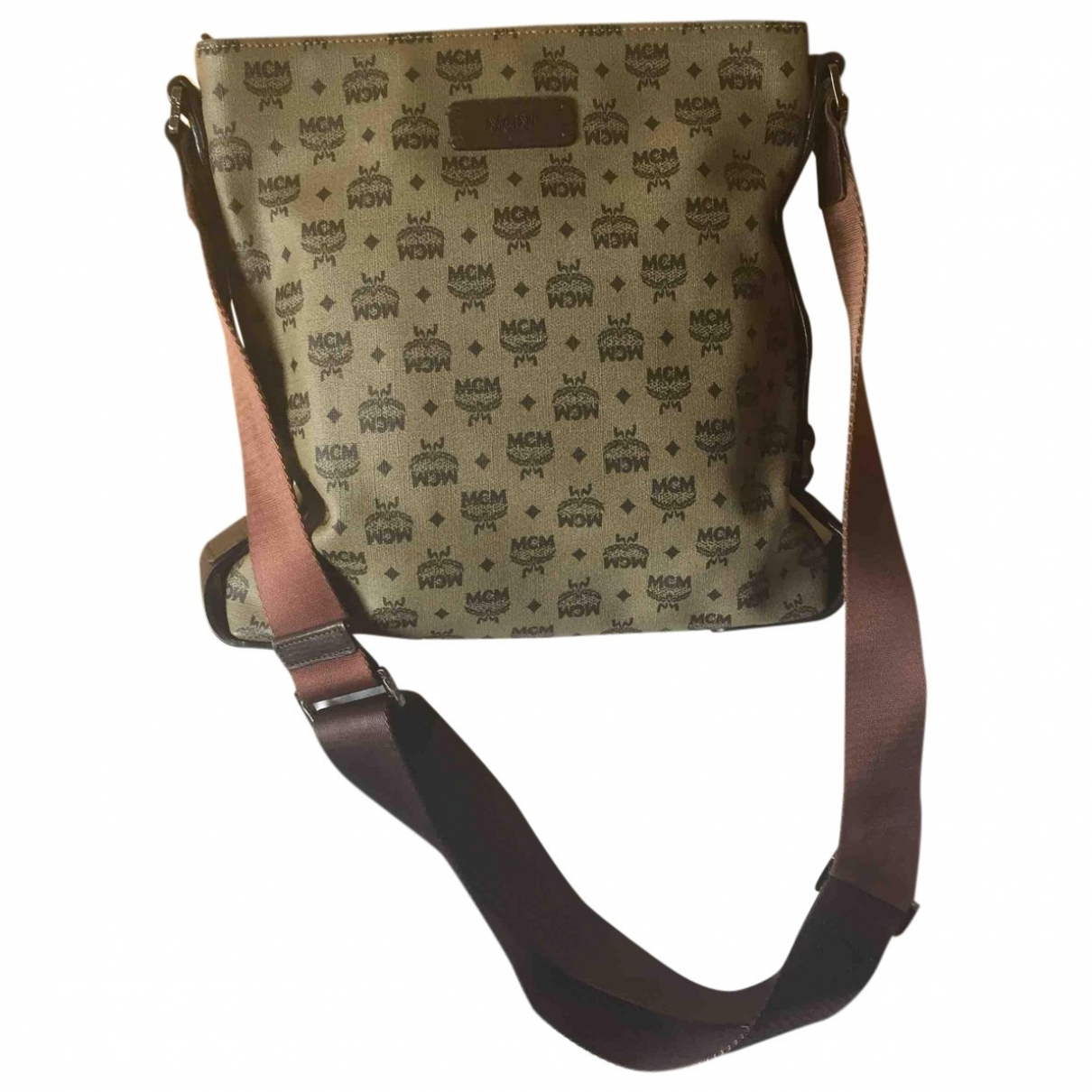 Mcm \N Handtasche in  Beige Leinen