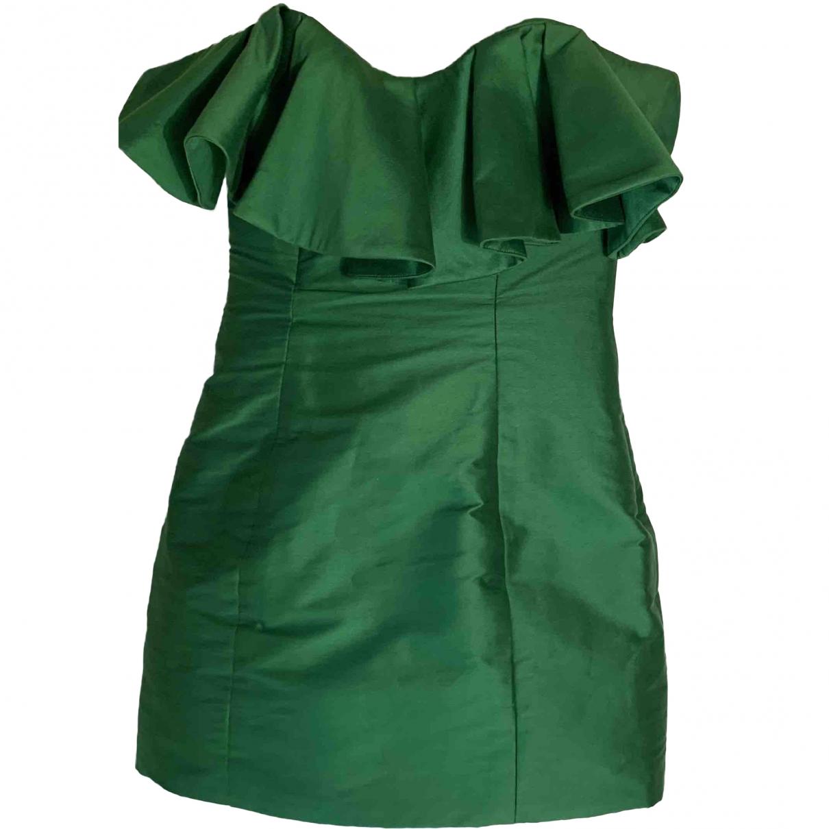 Attico \N Green dress for Women 40 FR