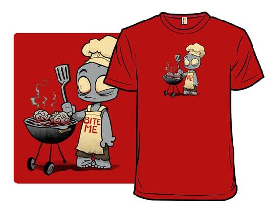 Zombie Bbq T Shirt