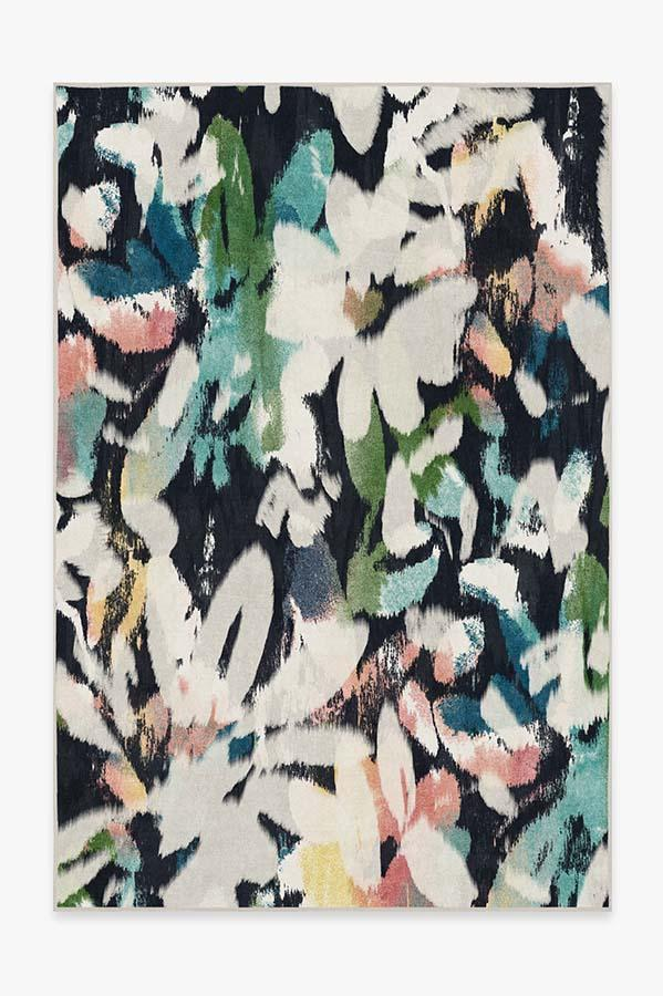 Washable Rug Cover   Kalina Multicolor Rug   Stain-Resistant   Ruggable   6'x9'