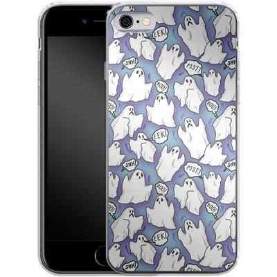 Apple iPhone 6 Silikon Handyhuelle - Ghost Pattern von caseable Designs