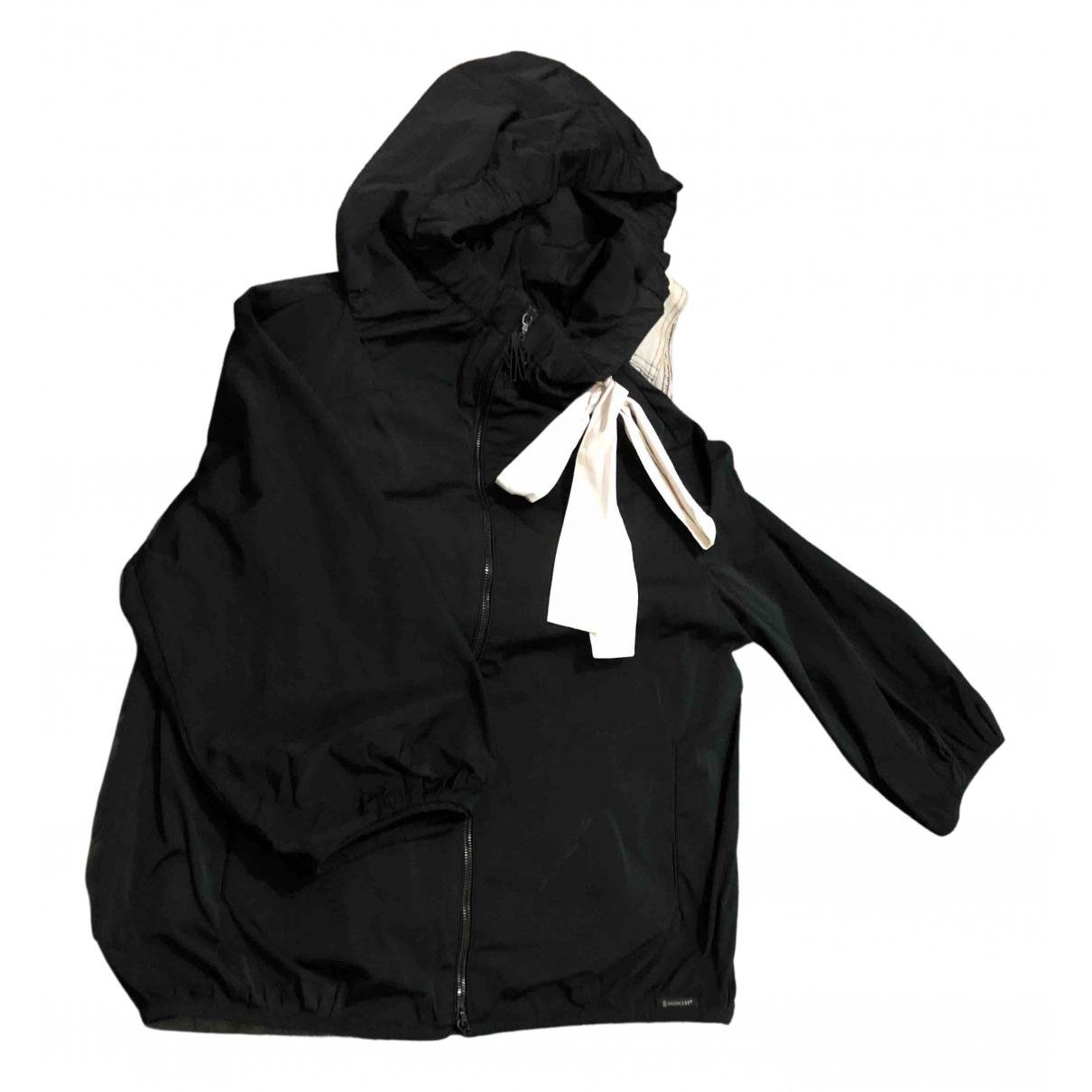 Moncler N Black jacket for Women 42 IT