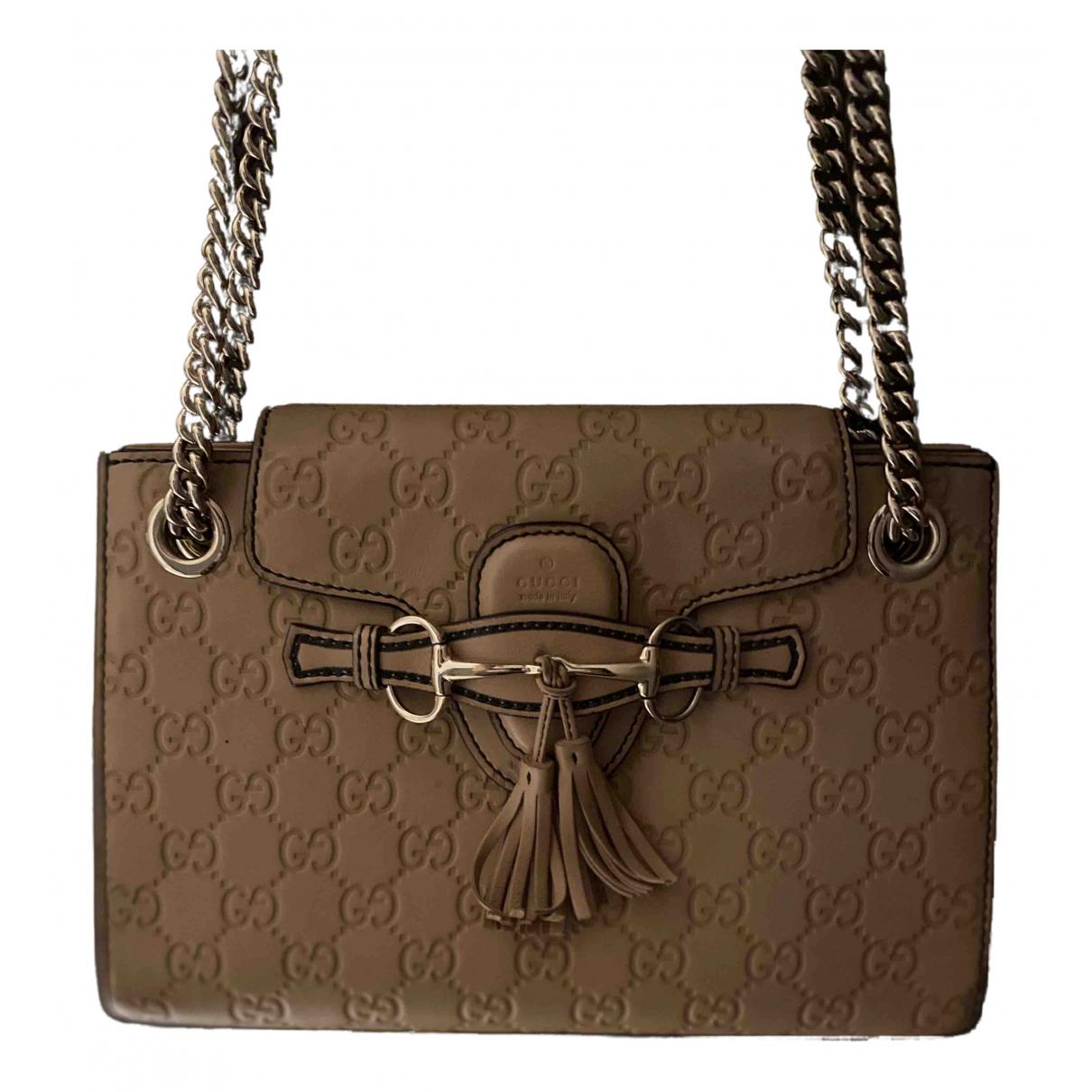 Bolso  Emily de Cuero Gucci