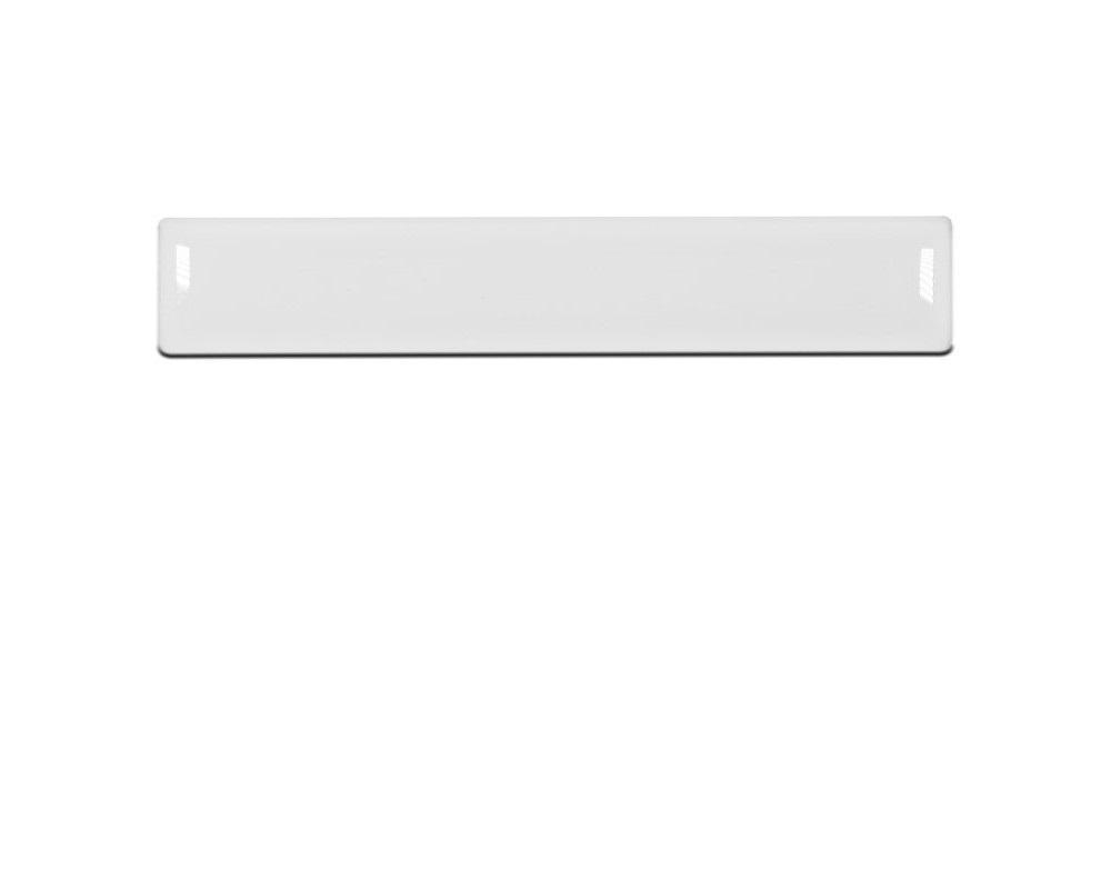 Tufskinz TUN016-WHT-029-G Center Console Badge Custom Text Option Fits 2014-2020 Tundra (Gloss White)